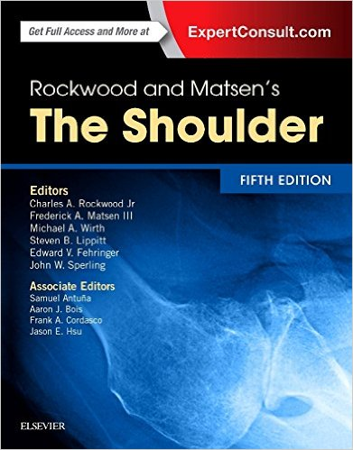ROCKWOOD AND MATSEN'S THE SHOULDER, 5E 5TH EDITION 4