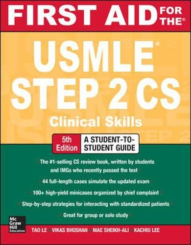 First Aid for the USMLE Step 2 CS, 5th Edition 2