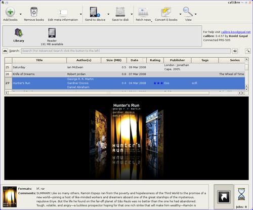 CALIBRE - Software para organizar e-books 2