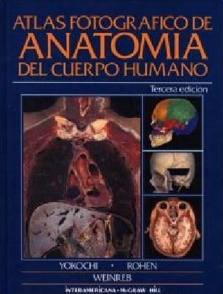 Atlas fotográfico de anatomía del cuerpo humano - Chichiro Yokochi 2