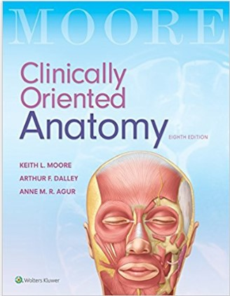 Clinically Oriented Anatomy 8th Edition pdf download 2018