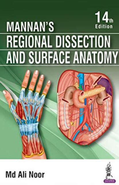 PDF Download Mannan's Regional Dissection and Surface Anatomy 14th Edition Free