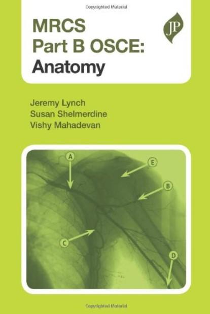 Download MRCS Part B OSCE Anatomy PDF Free