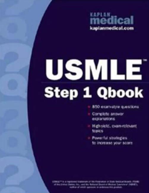 Download USMLE Step 1 Qbook Kaplan Medical PDF Free