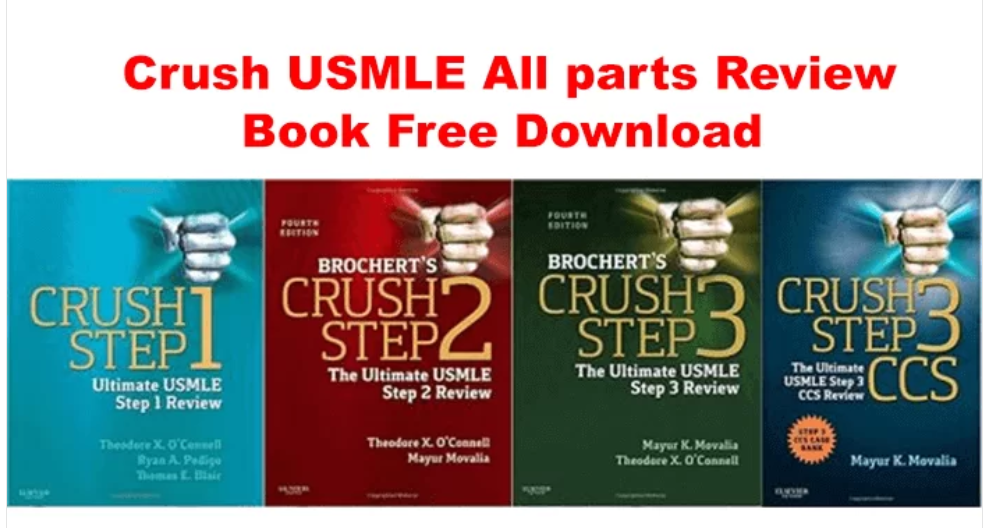 Crush USMLE All Steps Review Series Free PDF Download Books