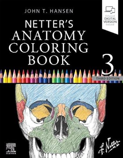 Netter's Anatomy Coloring Book 3rd Edition PDF Free Download