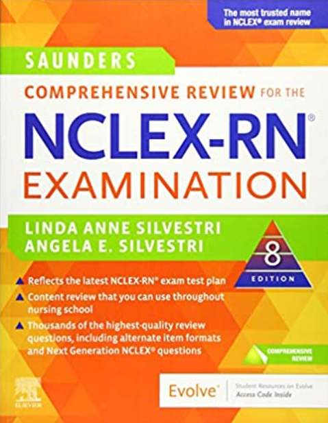 Download Saunders Comprehensive Review for the NCLEX-RN® Examination 8th Edition PDF Free