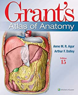 Grant's Atlas of Anatomy (Lippincott Connect) 15th Edition PDF Free Download