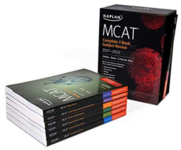 MCAT Complete 7-Book Subject Review 2021-2022 PDF Free Download
